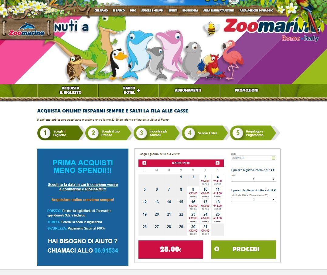 Zoomarine promotes Dynamic Pricing